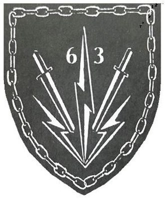 1 Special Service Battalion - 63 Mech Battlegroup to which 1 SSB detached