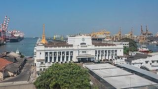 Port of Colombo Harbor of Sri Lanka