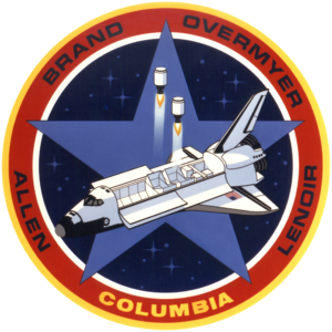 STS-5 - Image: STS 5 mission insignia