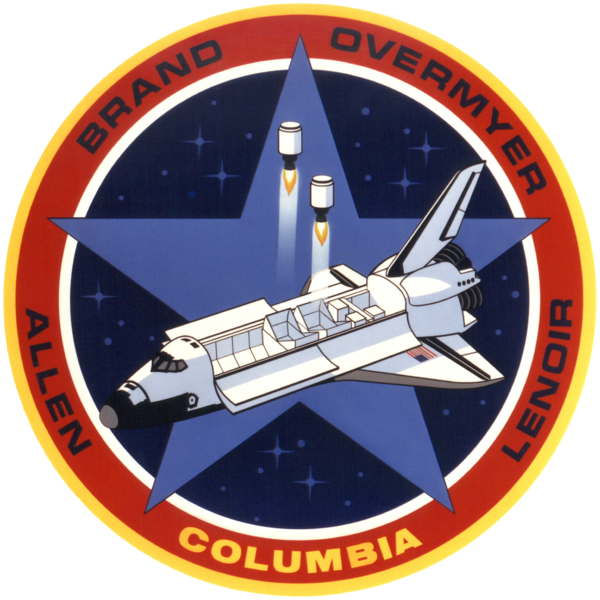 Файл:STS-5 mission insignia.png