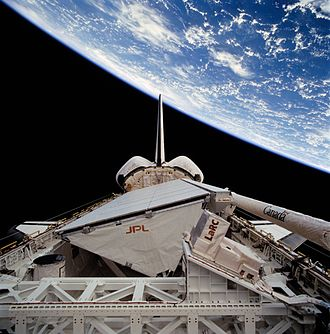 STS-68 - Image: STS 68 payload bay view