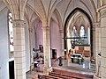 Saarbrücken-Burbach, St. Eligius (Innenansicht, Blick zum Altar) (11).jpg