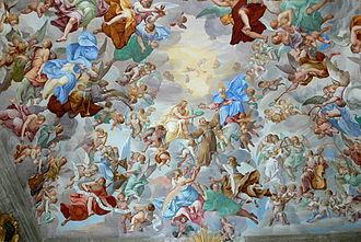 Antonio Busca (painter) -  Ceilling, Sacro Monte Orta