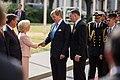 Saeimas priekšsēdētāja tiekas ar Nīderlandes karali (42680471222).jpg