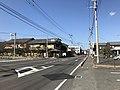 Saga Prefectural Road No.23 in front of Nishi-Karatsu Station.jpg