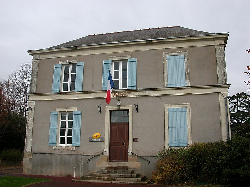 Town hall of Saint-Germain-des-Prés, Maine-et-Loire