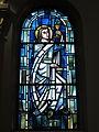 Saint Charles Seminary (Carthagena, Ohio), Chapel of the Assumption, stained glass, St. John.jpg