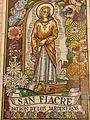 Saint Fiacre mural, Seville.jpg