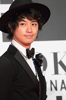 "Saito Takumi from ""The Sowing Traveller 3"" at Opening Ceremony of the Tokyo International Film Festival 2016 (33260237410).jpg"