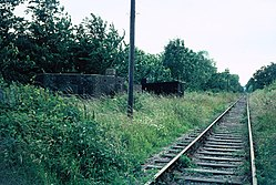 Salehurst Halt railway station (1970) 02.JPG