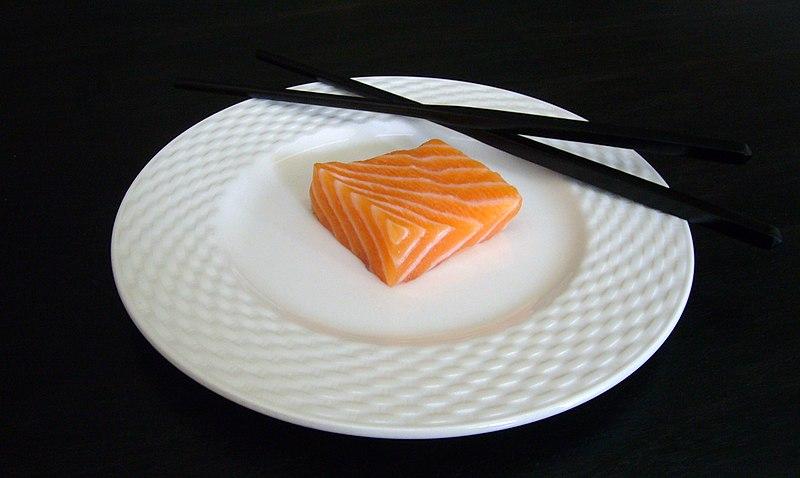 File:Salmon Sashimi.jpg