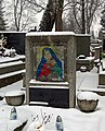 Salwator Cemetery, grave of Wladyslaw Zakrzewski (Polish painter), Waszyngtona Av, Krakow, Poland.JPG