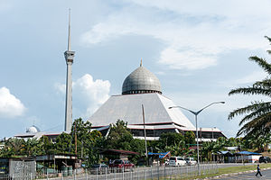 Sandakan District - Image: Sandakan Sabah Sim Sim City Mosque 01