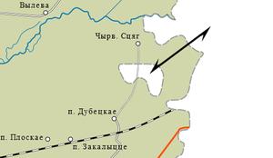 Sankovo-Medvezhye - Sankovo-Medvezhye enclave