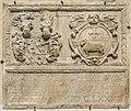 Sankt Georgen am Längsee Schlossallee 2 Kirchturm Gedenkstein 1676 Baujahr 12092015 1500.jpg
