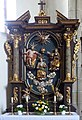 Sankt Roman Pfarrkirche - Altar Marienkrönung 1.jpg