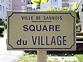 Sannois - Panneau square du village.jpg