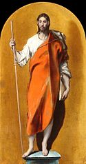 St James as a pilgrim