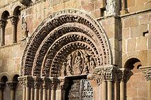 Resultado de imagen de imagenes de la iglesia de santo domingo soria