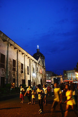 Blue Hour - Image: Santo Niño Church Cebu