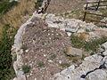 Santuario di Monte Sant'Angelo. Piccolo tempio riuso medievale - Esterno 53 (cisterna pentagonale) 1.JPG