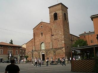 Sarsina - Cathedral of St Vicinius.