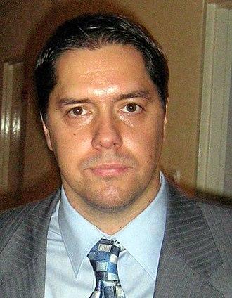 Sašo Filipovski - Filipovski in October 2007.