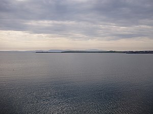 Scapa Flow - Scapa Flow viewed from its eastern end in June 2009