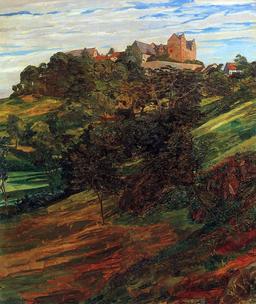 Schloss Lichtenberg 1900