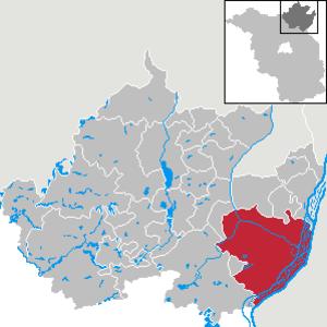 Schwedt - Image: Schwedt Oder in UM