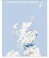 Scotland COVID-19 vaccine deployment plan 14 January 2021 (page 11 crop) - Centres Map.jpg
