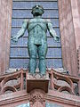 Sculpture above main north door, Liverpool Cathedral (2).JPG