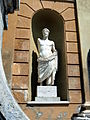 Sculpture outside in the Vatican museum.JPG