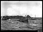 Sea serpent and boats at the Anniversary Day Regatta at Cremorne Point (7443854728).jpg