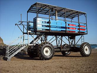Sea tractor - Image: Sea tractor, Bigbury on Sea