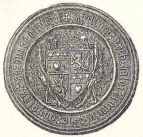 Seal of Archibald Douglas, 4th Earl of Douglas1400.jpg