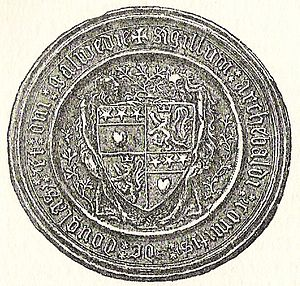 Archibald Douglas, 4th Earl of Douglas - Seal of the 4th Earl of Douglas