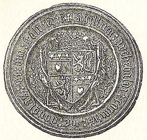 Archibald Douglas, 4th Earl of Douglas - Seal of the 4th Earl of Douglas