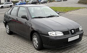 SEAT Córdoba - 1999 SEAT Córdoba Mk1 facelift