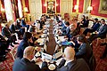 Secretary Kerry Sits Across from British Foreign Secretary Johnson at the Outset of a Multinational Meeting on Syria (30362707205).jpg
