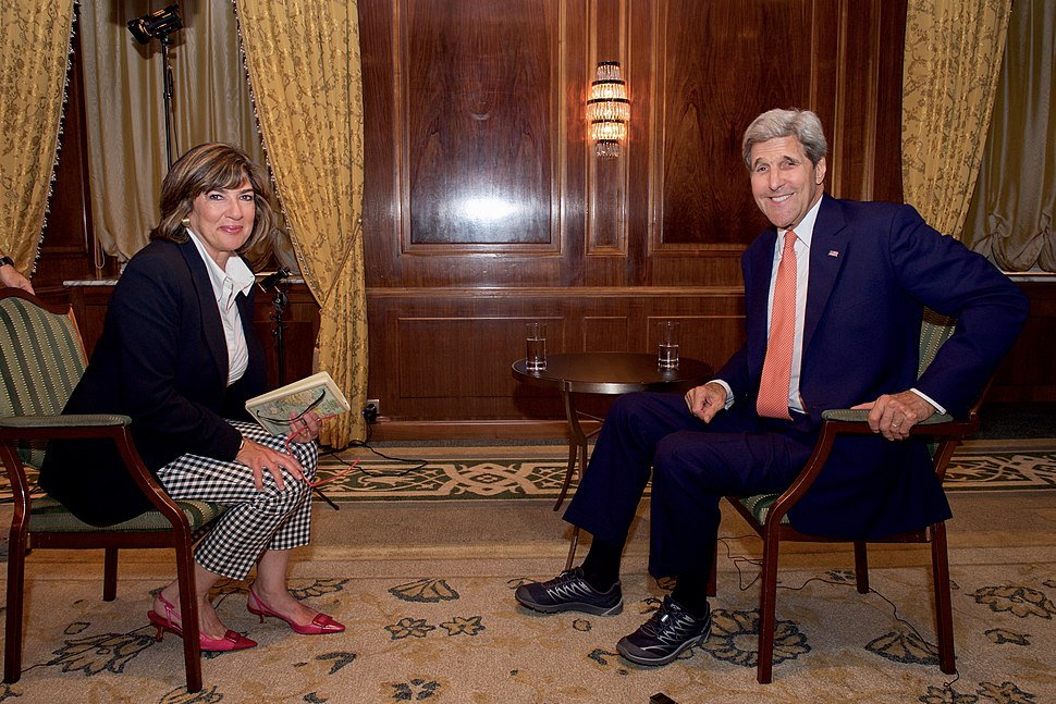 Secretary Kerry Sits Down for Interview With CNN Chief International Correspondent Amanpour After EU, P5%2B1 Reached Nuclear Agreement With Iran in Vienna (19695778891)