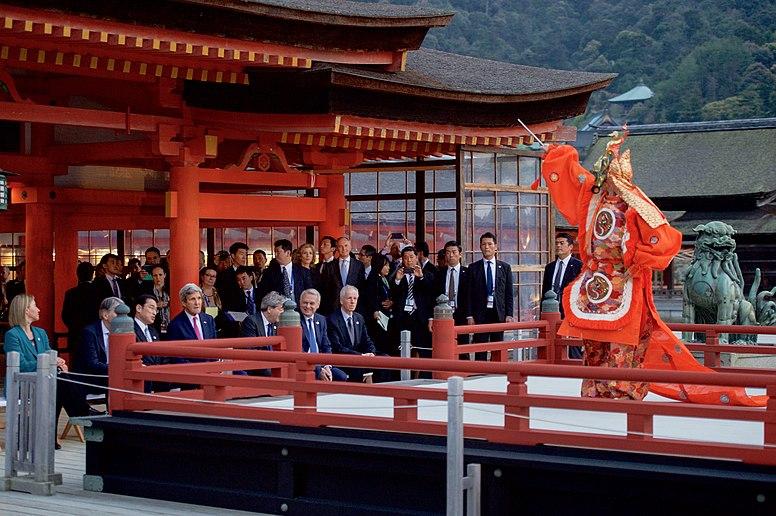 Secretary Kerry Sits With Japanese Foreign Minister  Kishida and His Counterparts at the Miyajima Island (26319154496)