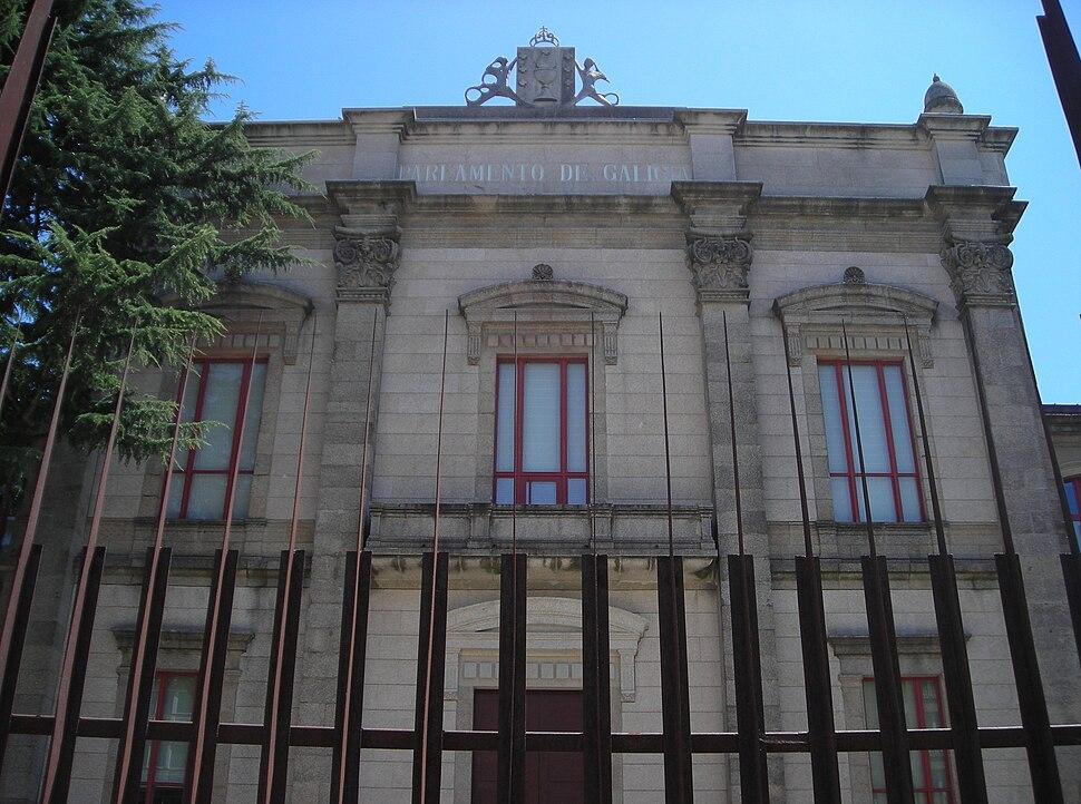 Sede do Parlamento de Galicia