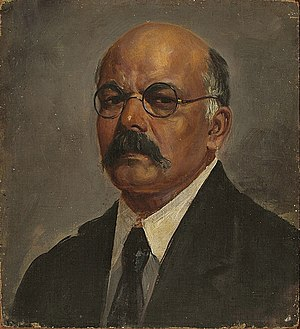 M. V. Dhurandhar - Image: Self Portrait of Painter