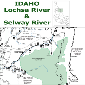Lochsa River - Image: Selway river id