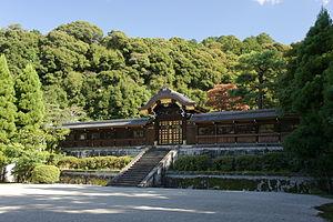 Sennyū-ji - Tsukinowa no misasagi