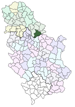kovin mapa srbije Kovin   Wikipedia kovin mapa srbije