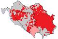 Serbs in Croatia, Bosnia, Montenegro and Serbia, 1981.png