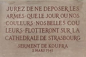 Capture of Kufra - Oath of Kufra, 2 March 1941