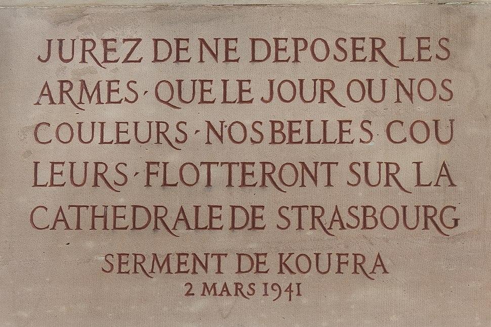 Serment de Koufra 2 mars 1941